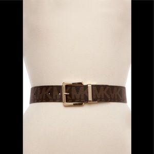 Micheal Kors logo belt